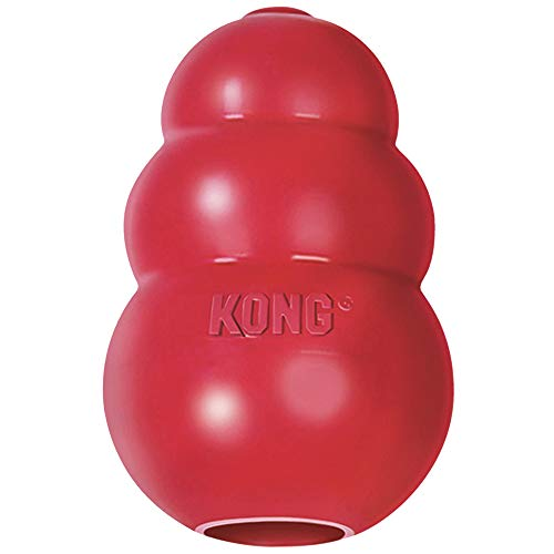 KONG 41938 Classic Dog Toy, Large, Red, KONG Classic...