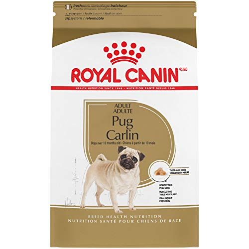Royal Canin Pug Adult Breed Specific Dry Dog Food, 10...