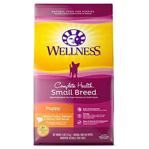 Wellness Complete Health Natural Dry Small Breed Puppy...