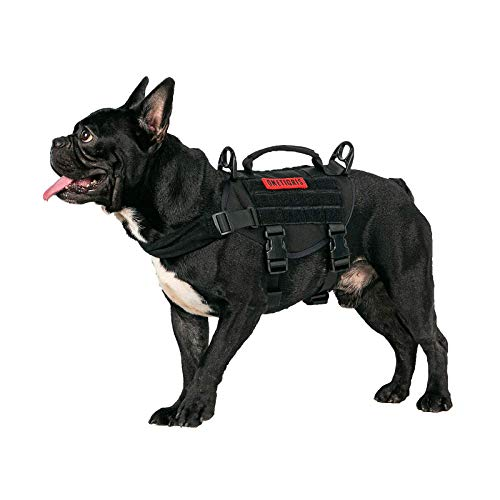 OneTigris Tactical Dog Harness, Military Dog Harness...