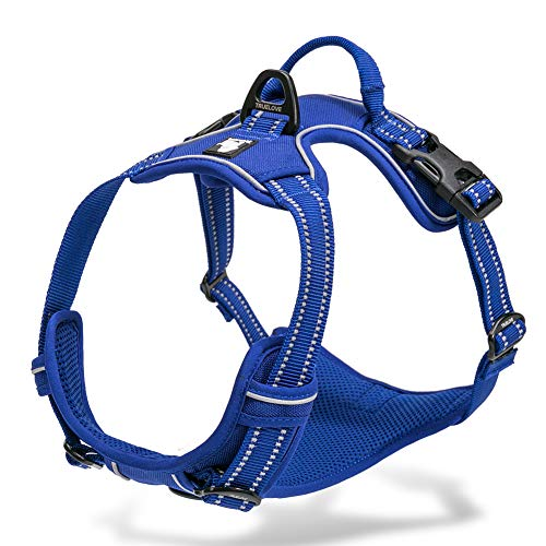 Chai's Choice Best Outdoor Adventure Dog Harness (Royal...