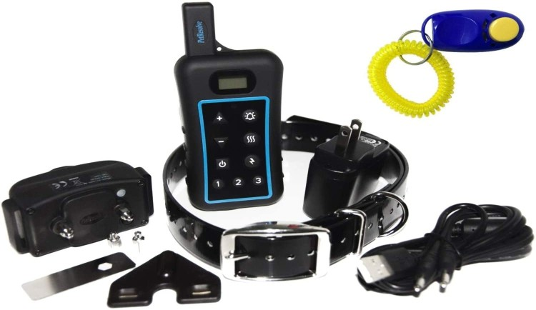 Pet resolve dog training collar with remote (Guide and Review)